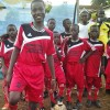 Footbal training in Sierra Leone