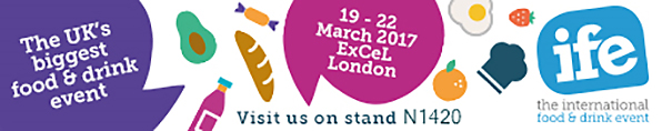 IFE 2017 – Visit us on stand N1420