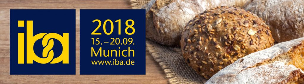 IBA 2018 logos over a photo of some bread